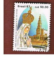 BRASILE (BRAZIL)  - SG  2299  -  1987  MARIAN YEAR: OUR LADY OF FATIMA  -    USED ° - Used Stamps
