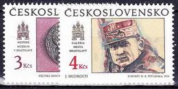** Tchécoslovaquie 1990 Mi 3059+3062 (Yv 2859-60), (MNH) - Tchécoslovaquie