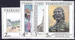 ** Tchécoslovaquie 1990 Mi 3069-72 (Yv 2869-72), (MNH) - Tchécoslovaquie