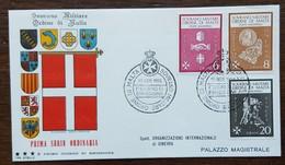 ORDRE DE MALTE - FDC 1966 - YT N°3, 4, 6 - Série Courante - Malte (Ordre De)