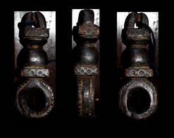 Ancien Neti Du Népal / Old Wooden Neti From Nepal - Art Asiatique