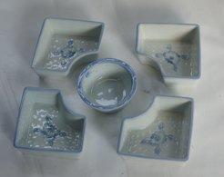 Ceramic 5 Pieces Set - Ceramics & Pottery