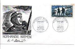 1969 FDC ESCADRILLE NORMANDIE-NIEMEN - FDC