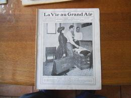 LA VIE AU GRAND AIR N°594 DU 5 FEVRIER 1910 HARRY LEWIS,MEETING DE LOS ANGELES,SALON DE BRUXELLES,LES INONDATIONS ET LE - Bücher, Zeitschriften, Comics