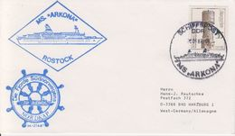 DDR 1987 MS Arkona Cover (40491) - Poolshepen & Ijsbrekers