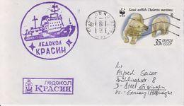 Russia 1989 Icebreaker Ca 14.06.89  Cover (40492) - Poolshepen & Ijsbrekers