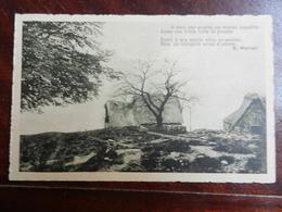 18506) LOCALITA' DA IDENTIFICARE CASE CON TETTO DI PAGLIA VIAGGIATA 1926 FRASE DI MARRADI - Cartoline