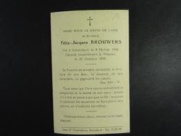 Félix Brouwers Shaerbeek 1908 Wépion 1939 /13/ - Images Religieuses