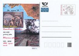 Rep. Ceca / Cart. Postali (Pre2013/12) Gaius Plinius Caecilius Secundus, Plinio Younger; Eruzione Del Vesuvio Nel 79 D.C - Archeologia
