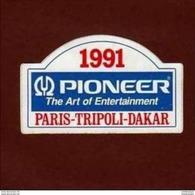 Paris Tripoli Dakar 1991 * - Adesivi