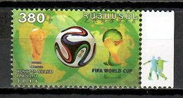 Armenia 2014 / Football World Cup Brazil Soccer MNH Copa Mundial Futbol Brasil 2014 / Cu9611  34-14 - Fußball-Weltmeisterschaft
