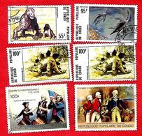 3198 --  REPUBLIQUE  POPULAIRE  DU  CONGO  --  Lot  De  Timbres  Oblitérés - Collections