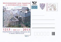 Rep. Ceca / Cart. Postali (Pre2013/13) Giornata Intern. Dei Monumenti E Dei Siti Storici (Vecchia Pilsen1213) Depold III - Archeologia