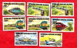 3201 --  REPUBLIQUE  POPULAIRE  DU  CONGO  --  Lot  De  Timbres De 1984  Oblitérés - Collections