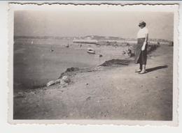 B 306 / 35 :  SAINT - MALO / 1935 /  Embarcadère Des Vedettes ,  Photo ,recto Verso , Issu D'un Album De Voyage - Orte