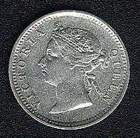 Hongkong, 5 Cents 1895, Silber - Hong Kong
