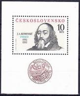** Tchécoslovaquie 1992 Mi 3110 - Bl.96 (Yv BF 89), (MNH) - Tchécoslovaquie