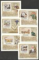 B201 !!! IMPERFORATE 2009 MOCAMBIQUE FAUNA DINOSAURS CHARLES DARWIN 6 LUX BL MNH - Briefmarken