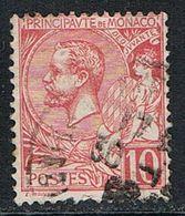 MONACO : N° 23 Oblitéré (Prince Albert 1er) - PRIX FIXE - - Used Stamps