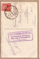 ESPAGNE - BARCELONE - GUERRE CIVILE , CENSURE COMITE DE MILICIAS ANTIFASCISTAS BARCELOEA 1936 - éditeur Zerkowitcz - Barcelona