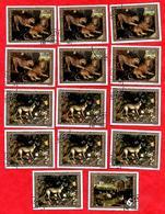 3206  --  REPUBLIQUE  POPULAIRE  DU  CONGO  -- POSTE  AERIENNE -  1973  N° PA 171 / 73   Oblitérés - Collections