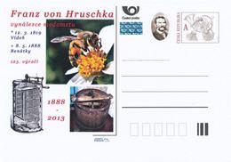 Rep. Ceca / Cart. Postali (Pre2013/17) Franz Von Hruschka (1819-1888) Inventore Di Miele Estrattore (1); Ape, Estrattore - Alimentazione
