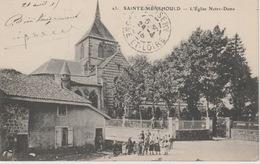 18/9/258  -  SAINTE - MENEHOULD  ( 51 )   L'ÉGLISE  NOTRE  DAME - Non Classés