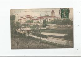 SAINT RAMBERT SUR LOIRE (SAINT JUST SAINT RAMBERT LOIRE) VUE GENERALE PANORAMIQUE AVEC TOUR ET EGLISE 1907 - Saint Just Saint Rambert