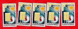 3211  --  REPUBLIQUE  POPULAIRE  DU  CONGO  -- POSTE  AERIENNE -  1964  N° PA 20(5x)**  Neufs - Congo - Brazzaville