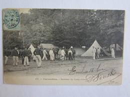 77 Seine Et Marne Fontainebleau Camp D'Avon Intérieur Du Camp - Fontainebleau