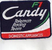 E11 - Sport Automobile - Ecusson 14 X 11 - Voiture De Couse - Italie - CANDY F1 - Ecussons Tissu