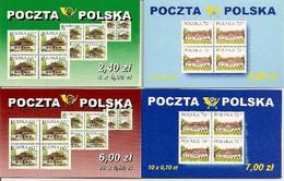 POLAND / POLEN, 1999, Booklet 39/42,  4x60, 4x70, 10x60, 10x70 - Carnets