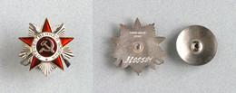 Ordre De La Guerre Patriotique De 2e Classe (1942-1945) - Russie