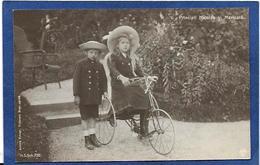 CPA Roumanie Romania Non Circulé Royauté Royalty Jouet Enfant Tricycle - Roumanie