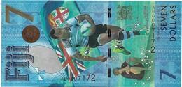 Fiji 7 Dollars 2017. Unc - Commemorative - Fidji