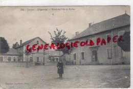 19 - VIGEOIS - HOTEL DE VILLE ET ECOLES  ECOLE - Autres Communes