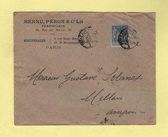 Ambulant - Paris Aux Pyrenees - 4 Mai 1900 - Type Sage - Transports - Postmark Collection (Covers)