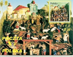 POLAND / POLEN, 2001, Booklet 49,  Christmas - Markenheftchen
