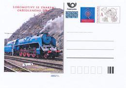 Rep. Ceca / Cart. Postali (Pre2013/20) Locomotive A Vapore SKODA 1945-58 (1) Albatros (1945-47) 498.0 - Fabbriche E Imprese