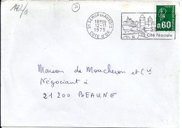 21 - COTE D'OR - 21.SEMUR EN AUXOIS - SECAP  - 1975 - Annullamenti Meccaniche (Varie)