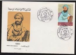 FDC/Année 1980-N°722 : (Oblitération Alger)ibn Sina - Algérie (1962-...)