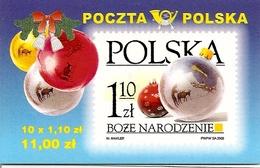 POLAND / POLEN, 2002, Booklet 52,  Christmas - Markenheftchen