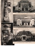 +  1191,  35 X Paris, Exposition 1925, + 1 Panoramakarte, Carte Panoramique - Postcards