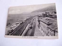 Genova - Ge-Prà Via Aurelia E Spiaggia + Ferrovia - Genova (Genua)
