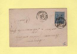 Ambulant - Clamecy A Paris - 10 Sept 1880 - Poste Ferroviaire