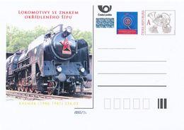 Rep. Ceca / Cart. Postali (Pre2013/21) Locomotive A Vapore SKODA 1945-58 (2) Kremak (1946-47) 534.03 - Fabbriche E Imprese