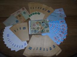 Entier Postal - Lot De Plusieurs Centaines D'entiers Postaux / Avec Série Aérogrammes Concorde - Postal Stamped Stationery