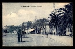 83 - SAINTE-MAXIME - BOULEVARD DU LITTORAL - Sainte-Maxime