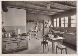 Postcard WAGGGS Girl Guide Girl Scout Chalet International Adelboden Our Chalet Kitchen My Ref  B22986 - Scouting