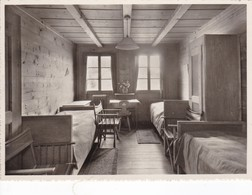 Postcard WAGGGS Girl Guide Girl Scout Chalet International Adelboden Our Chalet Bedroom My Ref  B22987 - Scouting